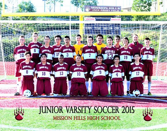 Junior Varsity Boys Soccer