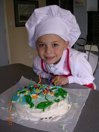 birthday cake bake