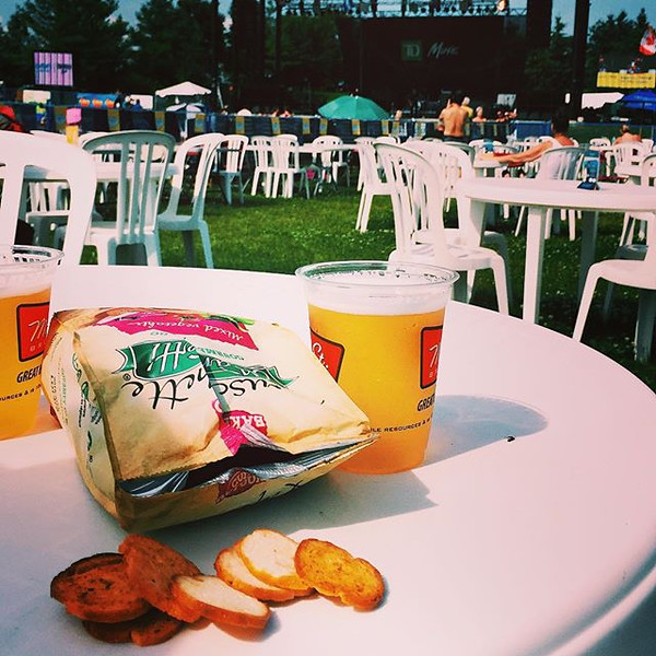 It_s_date_day__We_re_kicking_it_off_at_the_Beaches_Jazz_Festival_beer_tent____Snack_Maretti__snackmaretti.jpg