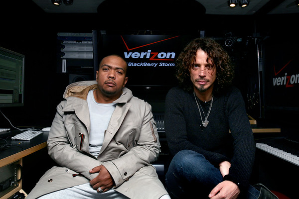 Chris Cornell & Timbaland CD Release Party