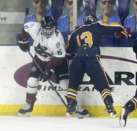 Billerica Chelmsford vs Andover hockey 022121