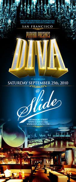 Playboi Presents DIVA-SF @ Slide 9.25.10