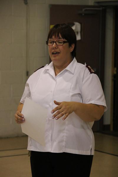 Advisory Board Picnic, Salvation Army, Tamaqua (6-28-2013)