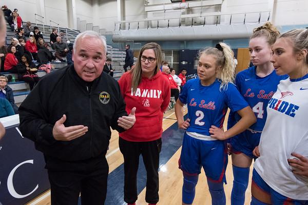 2020 Girls Varsity Basketball vs. La Salle