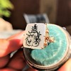 'Pineapple Family Crest' Chalcedony Ring, by Seal & Scribe 15