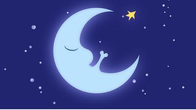 La Lune et Le Coq