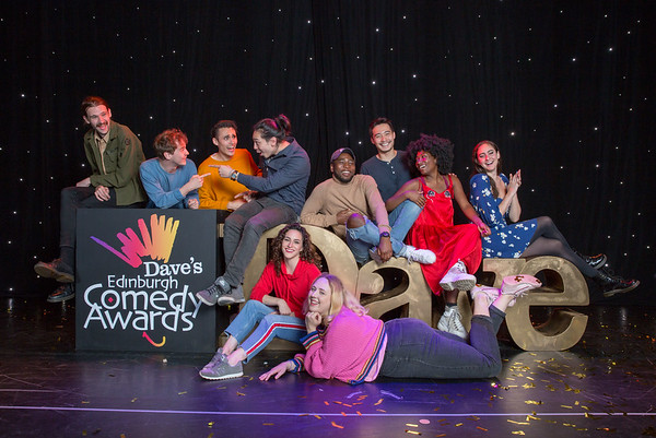 22/08/19 - 2019 Nominees Daves Edinburgh Comedy Awards