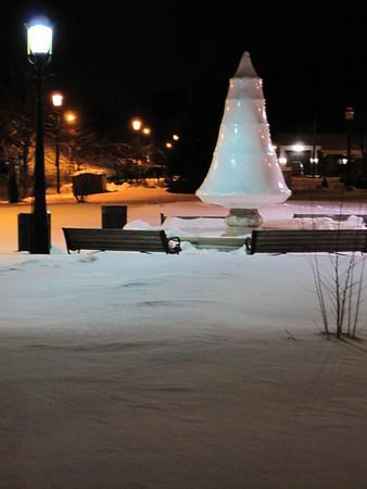 Tamaqua Snow at Depot Square Park (2-18-2010)