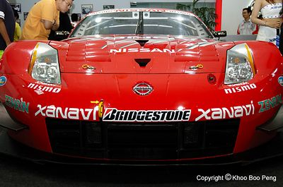 Japan GT Championship Malaysia roadshows 2005