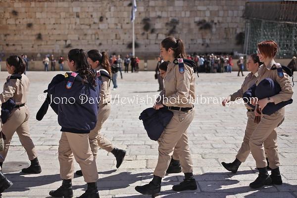 ISRAEL, Jerusalem, Old City, Jewish Quarter. Kotel (Western Wall) (3.2012)