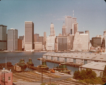 Visit to New York 1980