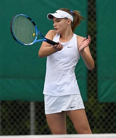 2019 Wayzata Girls Varsity Tennis vs. Breck