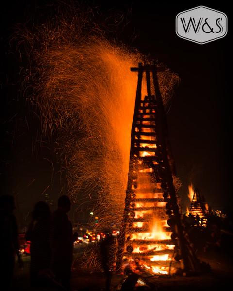 Lutcher Bonfires 2012