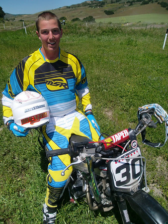 Daniel Meynet prepping for Mini Moto 2010
