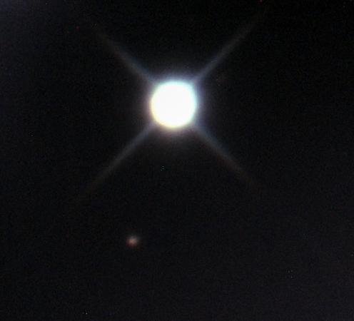 Camera=DBK21, Telescope=Mewlon210 (f/18.4), No guiding, Mount=JPZ, AVI file stacked with Giotto, Photo processing=Apple  Aperture v3.1.2
