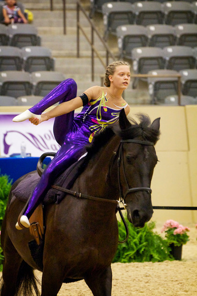 AVA National Vaulting Championships 2012