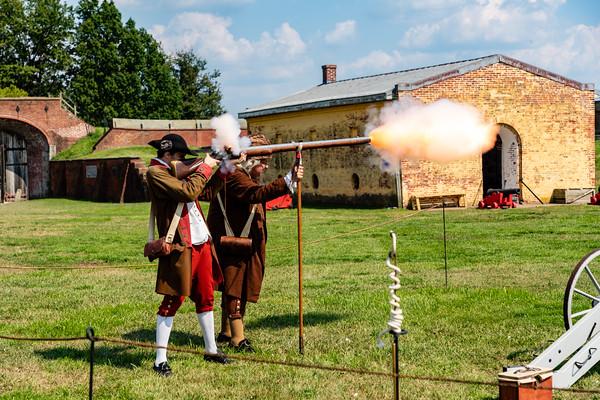 Les Francais au Fort -  Fort Mifflin