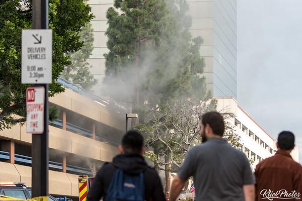 Santa Ana Parking Garage Fire - January 4th, 2017