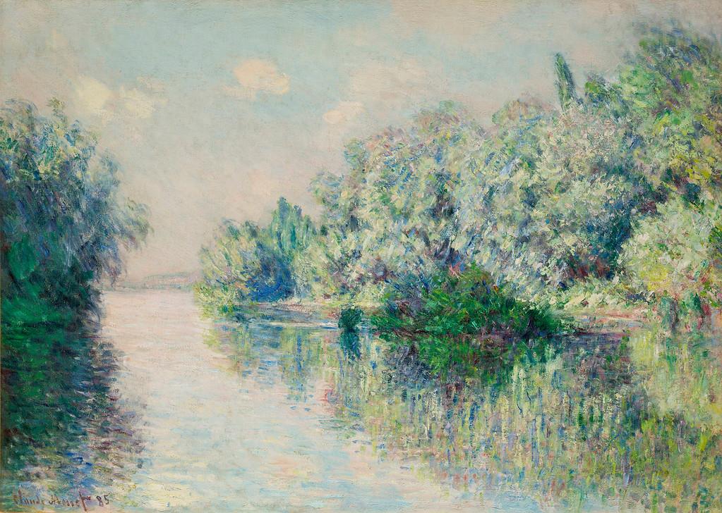 """. Claude Monet, \""""La Seine Pres de Giverney,\"""" 1885, oil on canvas, 25.75x36.25\""""  (Image provided by the Denver Art Museum)"""