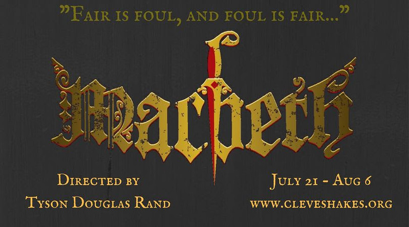 ". The Cleveland Shakespeare Festival preseents ""Macbeth,\"" running July 21 through Aug. 6 at various locations in Northeast Ohio. Admission is free. For more information, visit www.cleveshakes.com. (Submitted)"