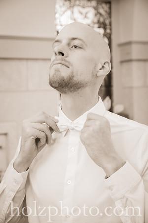 Cristalle & Adam Creative Wedding Photos