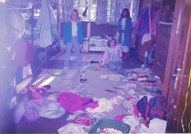 Boarding school dorm room, Murree Hills, Pakistan, 1990s, MCS.jpg
