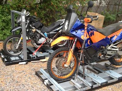 Export motos