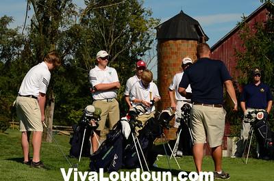Golf: Loudoun County at Woodgrove Golf (9-11-2012 by Jeff Vennitti)