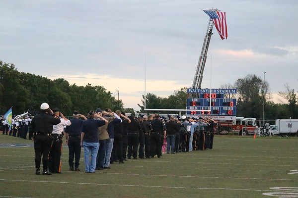 CRN Football - 1st Responders Night 09132019
