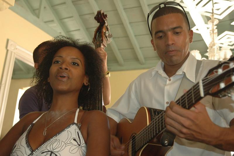Cuarteto Isla Ensemble in Trinidad - Leslie Rowley