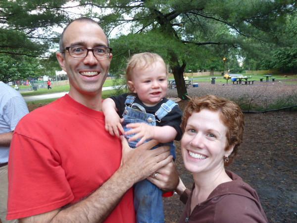Carl, Ed, Adriane Prospect Park, Brooklyn