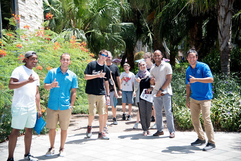 Come take a Campus Tour with Islander Welcome Center's very own Zach Baltizar.
