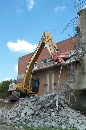 NPK M38G concrete pulverizer on Cat excavator-commercial demolition (4).jpg