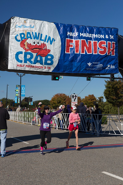 2015 Crawlin' Crab Half-Marathon