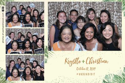 Krystle & Christian's Wedding (Vanity Magic Mirror Photo Booth)