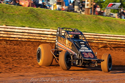 Williams Grove USAC Sprints - 6/15/18 - David Dellinger