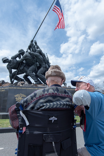 Iwo Jima, Air Force Memorial April 2018