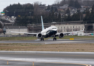 Boeing's 737 MAX 8 completes its maiden flight