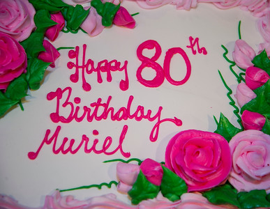 Muriel's 80th Birthday Party November 24, 2018