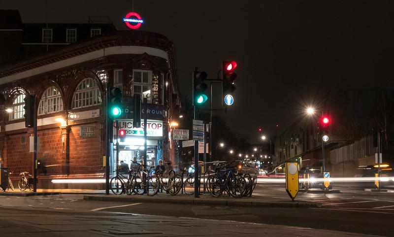 Chalk Farm Road tube station