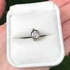 .73ct Late Victorian Antique Cushion Cut Collet Component 4