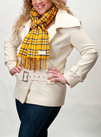 28601 - Tartan Plaid Scarf / Fleece Blankets