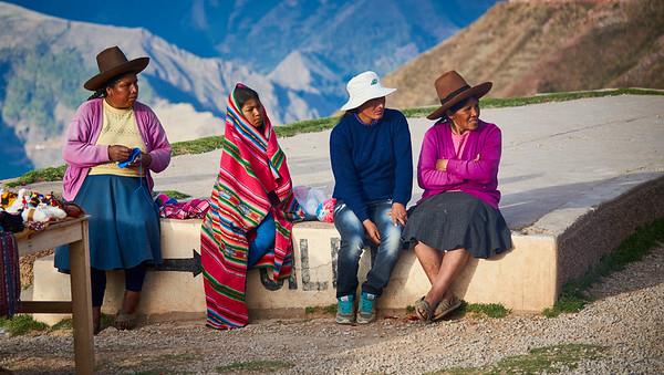 Bus Ride to Cusco