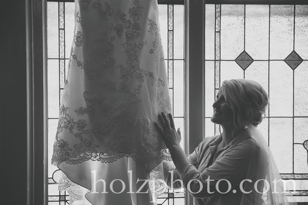 Jessica & Joey B/W Wedding Photos