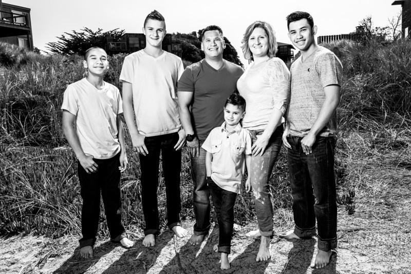The Pakeles and Family - Family Photography, Pajaro Dunes, Watsonville, California