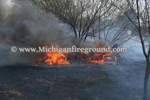 4/3/10 - Dansville grass fire, 2320 S. Meridian Rd