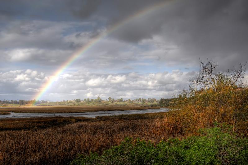 Rainbow Over the Back Bay