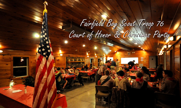 Fairfield Scouts Christmas Party 2016