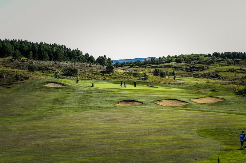 Íslandsmót í golfi 2019 - Grafarholt 2. keppnisdagur Mynd: seth@golf.is