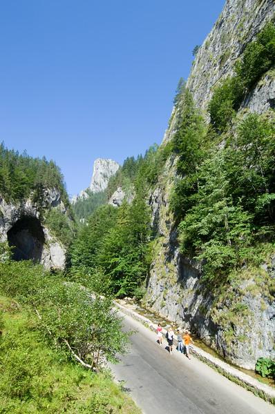 Bicaz Gorges, Ceahlau Massif, The Carpathians, Moldavia, Romania